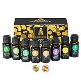 Aceites esenciales naturales, aceite esencial de lavanda, romero, puros 100%, mejores aceites esenciales para belleza, aceites...