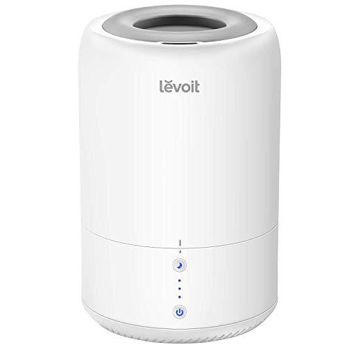 Levoit Humidificador Ultrasónico de Vapor Frío y Carga Superior 2 en 1, Difusor de...