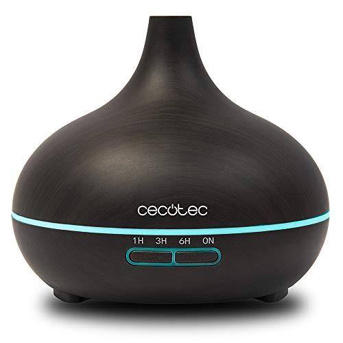 Cecotec Humidificador Ultrasónico y Difusor de Aromas con Temporizador Pure Aroma 300...
