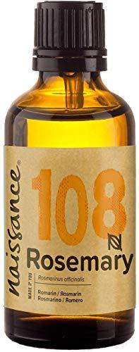 Naissance Aceite Esencial de Romero n. º 108 – 50ml - 100% Puro, vegano y no OGM