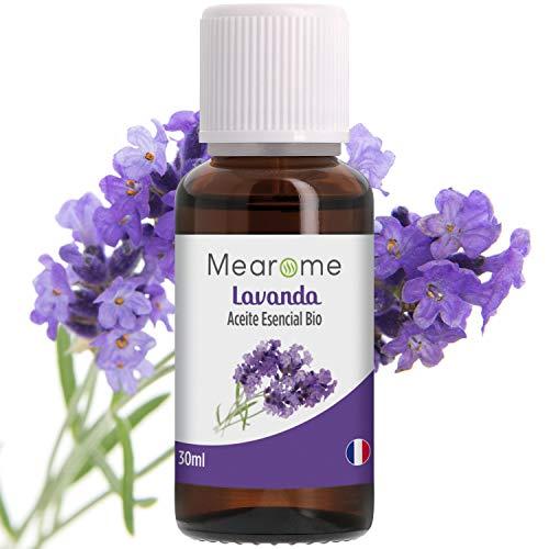 Aceite Esencial de Lavanda Puro 30 ml, 100% Natural y Bio | Antiséptico Favorece el...