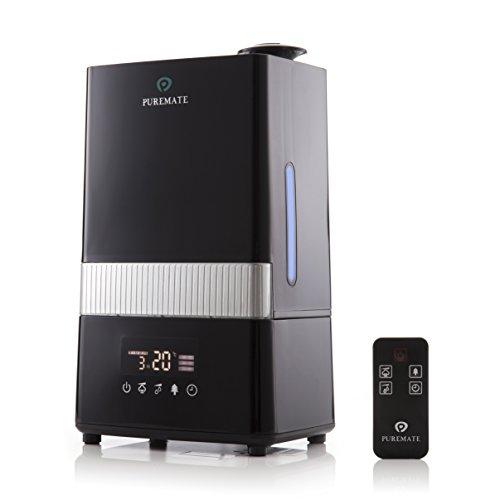 PureMate® PM 908 Humidificador Digital Ultrasónico de Vapor Frío e Ionizador Con...