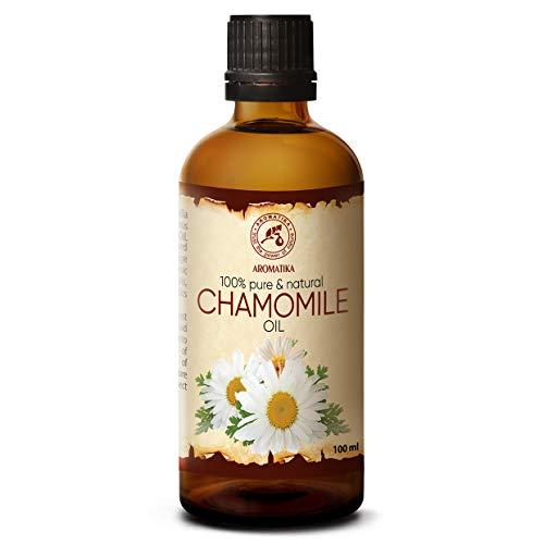 Aceite de Manzanilla 100ml - Matricaria Chamomilla - Extracto de Aceite de Flor de...