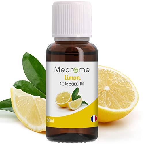 Aceite Esencial De Limón Puro 30 ml, 100% Natural y Bio | Para Cuidado del Cabello, Piel,...