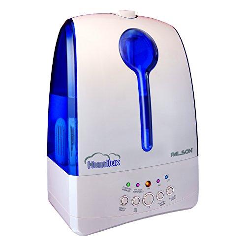 Palson 30542 Humidificador-ionizador ultrasónico, 30 W, 5.8 litros, Azul, Blanco