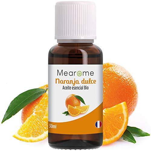 Aceite Esencial de Naranja Dulce Bio 30ml, 100% Natural y Puro | Vitamina C Antiestrés...