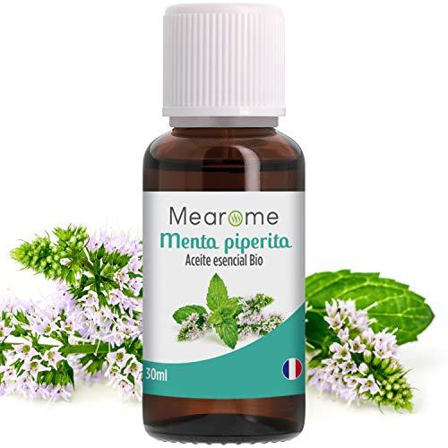 Aceite Esencial De Menta Piperita Puro 30 ml, 100% Natural y Bio | Alivia Dolores de...